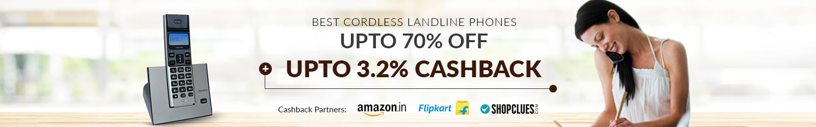 Landline Phone Price: 70% Off | Buy Cordless, Wireless Phone Online