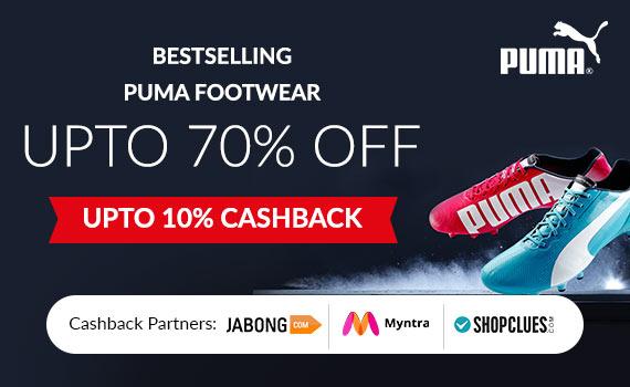 myntra puma shoes 50 off