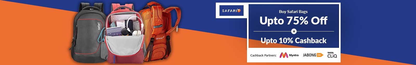745898bbd5 Safari Bags Price List India, Offers: 75% Discount + 10% Cashback, 2019