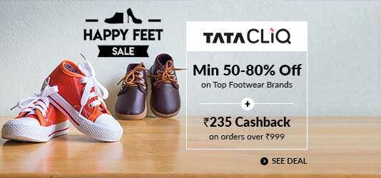 Tata Cliq  Offers Today