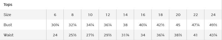 Marks & Spencers Bra Size Chart