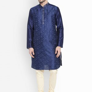 Embroidered Fancy Kurta Pajama Design