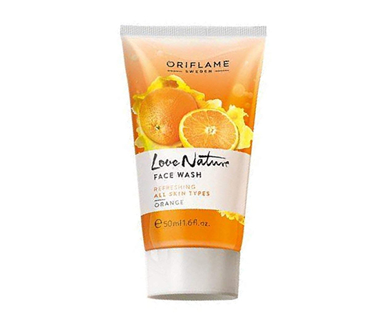 Oriflame-Love-Nature-Oat-Face-Wash