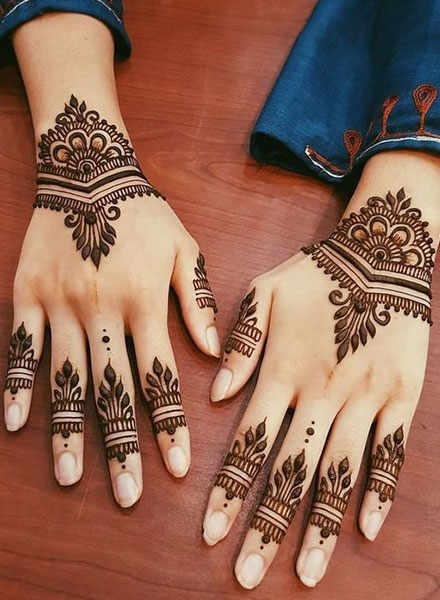 50 Simple \u0026 Easy Arabic Mehndi Designs