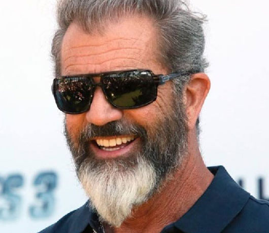 Grey Black Beard Style