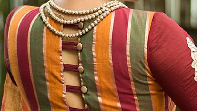 15 Different Types Of Blouse Back Neck Designs Latest