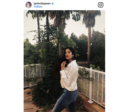 Janhvi Kapoor Instagram