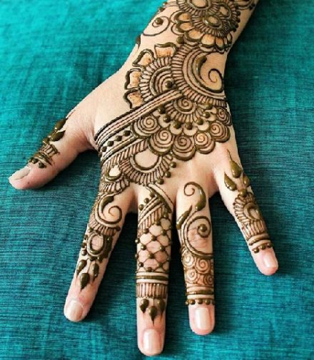 100 Latest Mehndi Designs For 2019 Simple Arabic Bridal