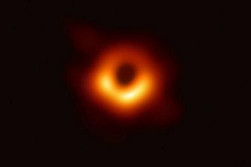 black hole real image